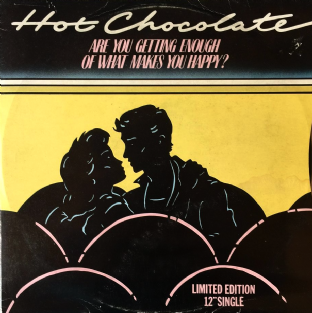 "Hot Chocolate - Are You Getting Enough Of What Makes You Happy? (12"") (G+/G-)"